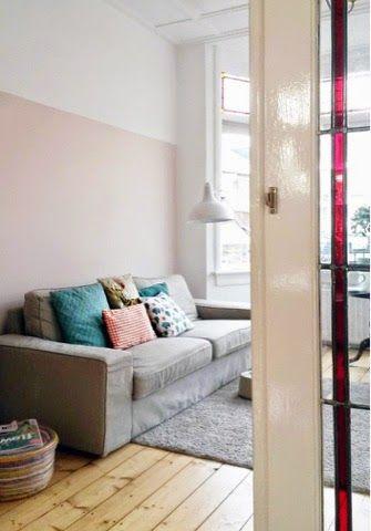 Meer dan 1000 idee n over roze woonkamers op pinterest roze muren huiskamer en slaapkamers - Kleur muur volwassene kamer ...