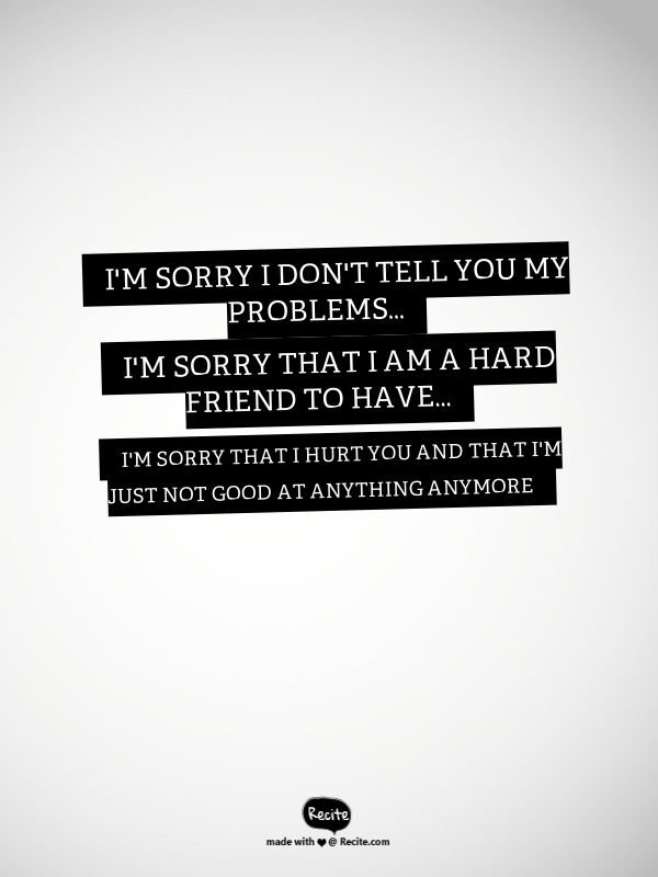 I M Sorry Best Friend Quotes – Daily Motivational Quotes