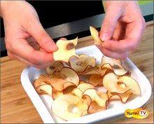 Comment faire des chips de pomme ?