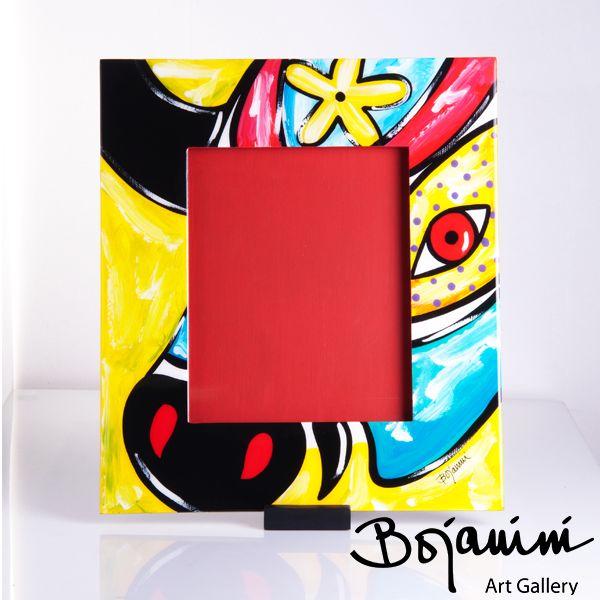 -Porta Retrato  pintado a mano- Decora tu casa con piezas de arte de Bojanini. Son exclusivas y muy llamativas, para que llames la atención de tus visitantes.  http://www.elretirobogota.com/esp/?dt_portfolio=bojanini-art-gallery