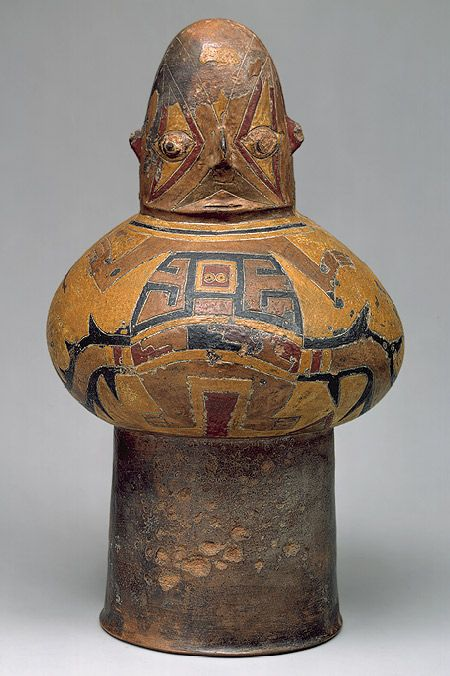 Drum [Peru; Paracas] (1979.206.1097) | Heilbrunn Timeline of Art History | The Metropolitan Museum of Art
