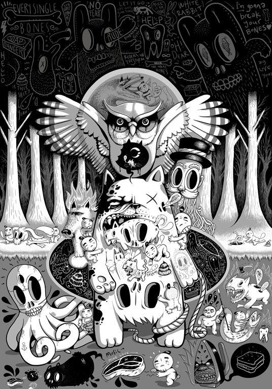 https://www.behance.net/gallery/20150773/MY-SOLO-SHOW-YOK-ARTIK-details