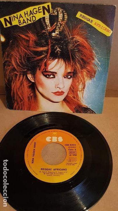 NINA HAGEN BAND / REGGAE AFRICANO / SINGLE-CBS - 1980
