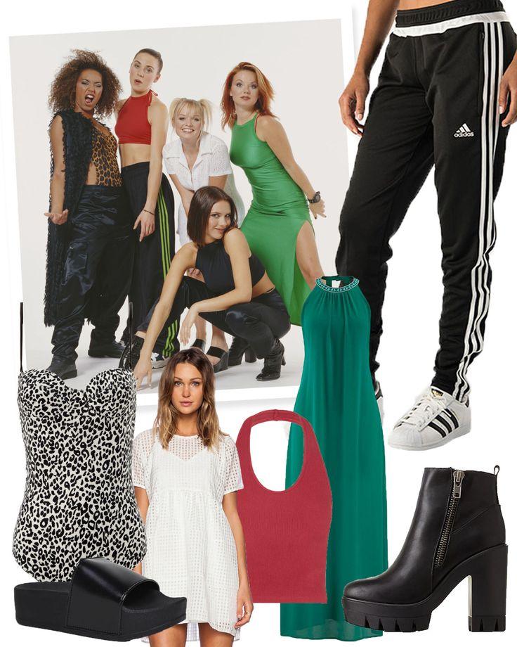 ber ideen zu spice girls costumes auf pinterest m dchen kost me halloween kost me und. Black Bedroom Furniture Sets. Home Design Ideas