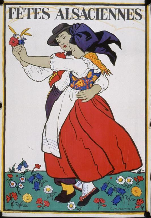 Louis Philippe Kamm Fêtes alsaciennes [1924]