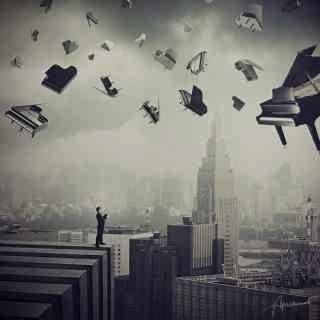 Flying pianos