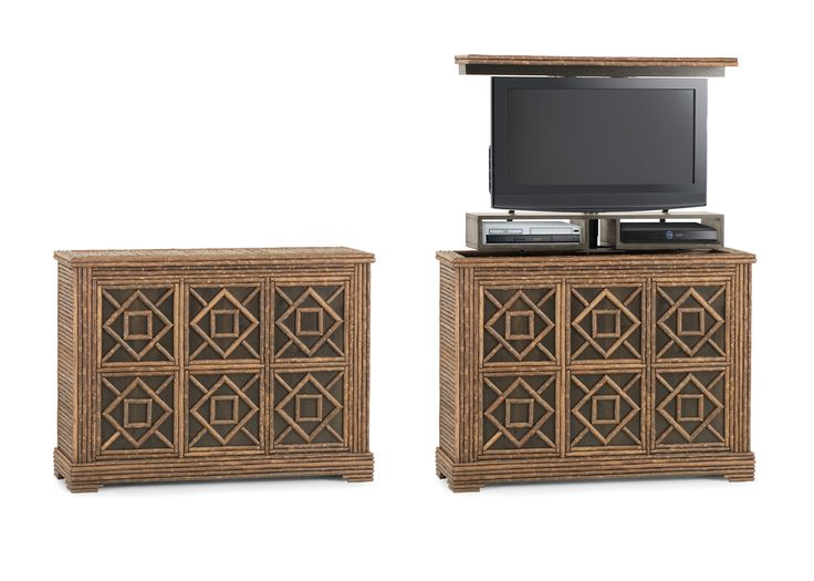 rustic tv lift cabinet rustic style from la lune collection