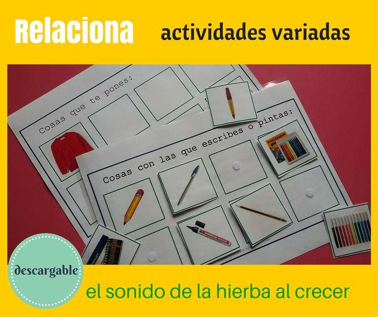 Nuevo material descargable para trabajar lenguaje. ¡a disfrutarlo!            Qué va-junto (1)   from Anabel Cornago