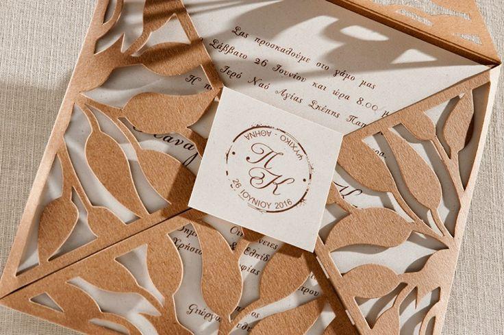 Ρομμαντικά και Vintage προσκλητήρια γάμου, Binatian