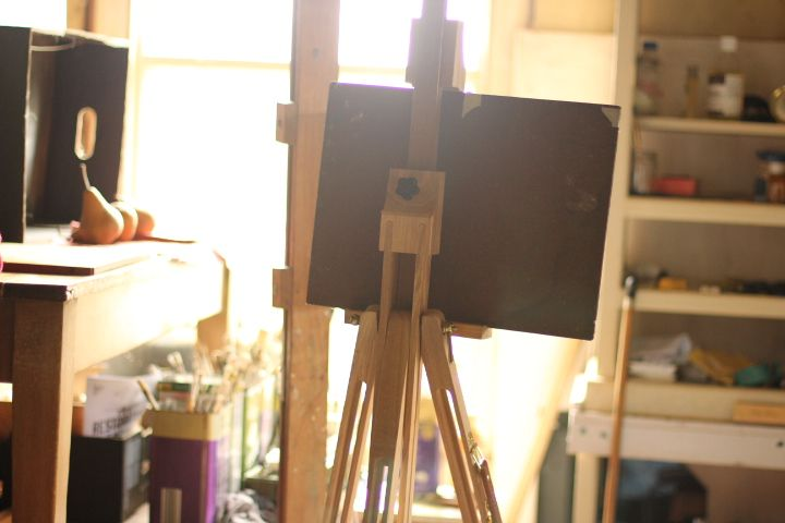 Setting up a new painting