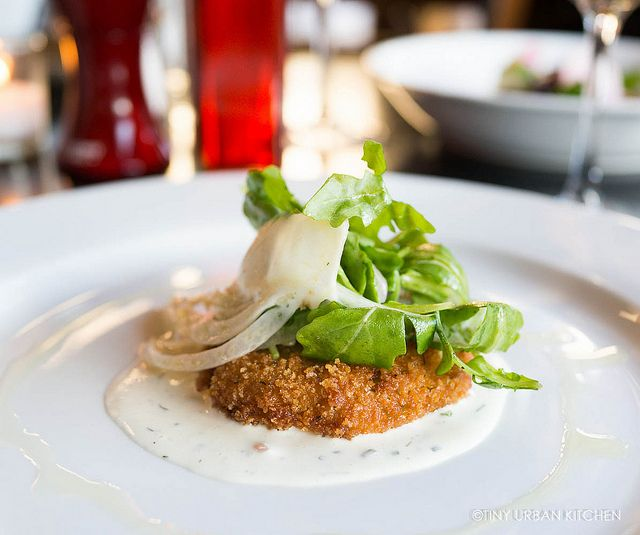Fried Green Tomato from @PizzeriaPosto in #Somerville