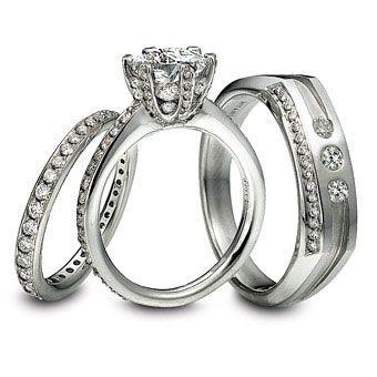 Platinum wedding rings trends   bling