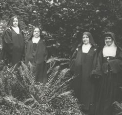 The sisters of St. Therese (l to r): Celine, Marie, Pauline, and Leonie