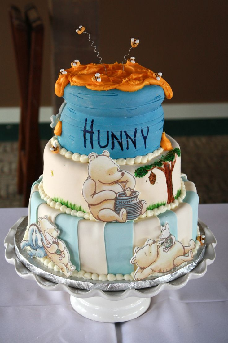 Hunny pot classic winnie the pooh cake petes sweets