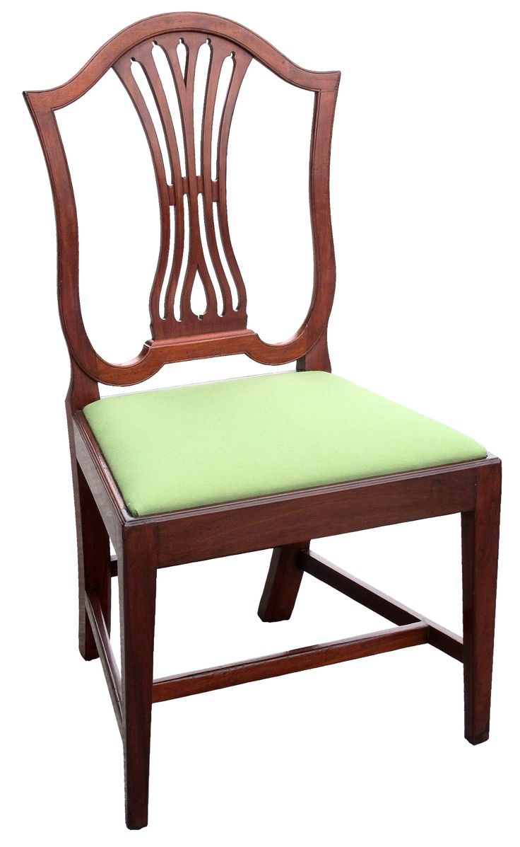 A Federal Carved Mahogany U201cModified Shield Backu201d Or Urn Back Side Chair;  Annapolis Or Baltimore, Nearly Identical Examples Can Be Seen In The  Collections Of ...