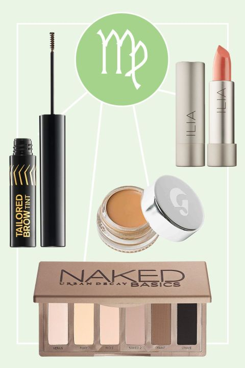 Virgo Product Recs: Urban Decay NAKED Basics Eyeshadow Palette, $29 sephora.com; Glossier Stretch Concealer, $18 glossier.com; butter LONDON Tailored Brow Tint, $20 nordstrom.com; ILA Tinted Lip Conditioner in Nobody's Baby, $26 sephora.com Virgo Celebs: Beyoncé, Lea Michele, Zendaya, Cameron Diaz, Blake Lively    Living up to her sweet and innocent reputation, the Virgo is everyone's best friend.  Described by the AstroTwins as witty and practical, she's the do-gooder on the block who…