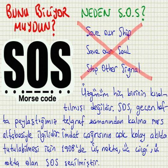 Neden S.O.S.?
