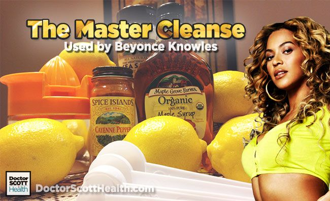 Use this Beyonce Detox Diet Recipe also known as The ...