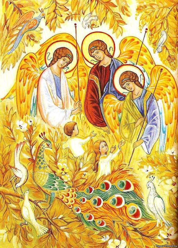 Reception of angels