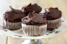 Chocolate and Beetroot Cupcakes - Maggie Beer