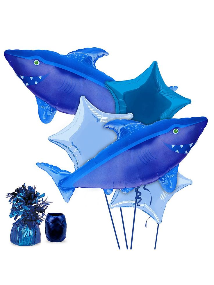 Ocean Party Balloon Kit! See more birthday party planning ideas at BirthdayinaBox.com!