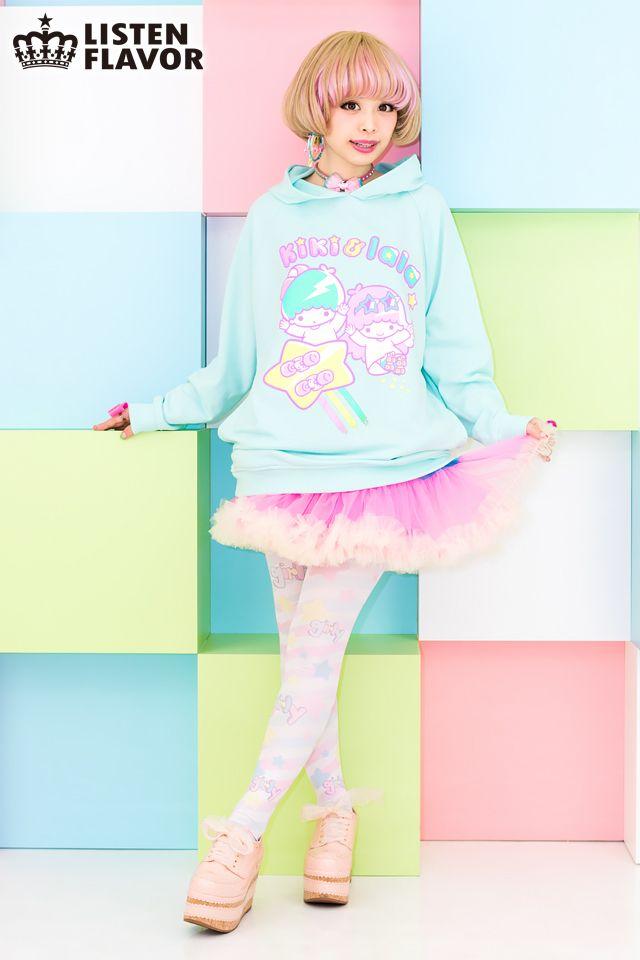 listen-f | Rakuten Global Market: Little twin stars starry Skate hoodies •…