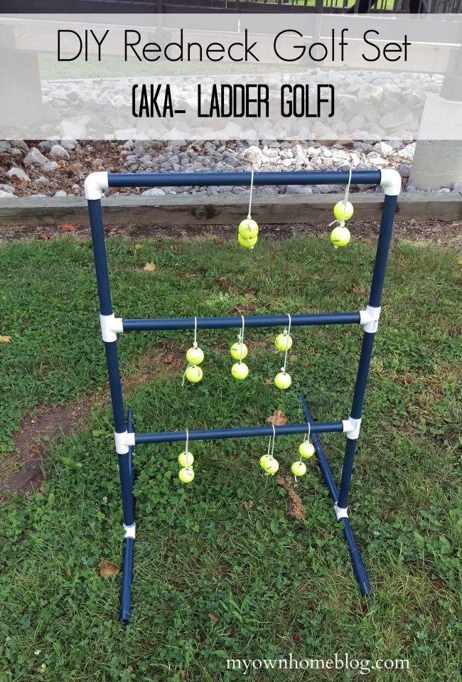 DIY Redneck Golf Set (aka- Ladder Golf) - My Own Home