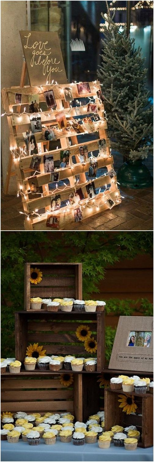 Rustic country bridal shower ideas #weddings #countryweddings #rustic #rusticweddings