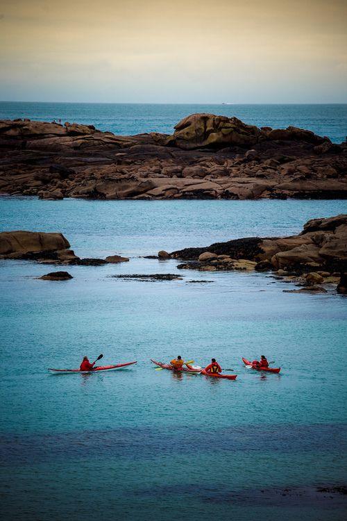 Kayakers at rest #kayak #kayaker #kayaking