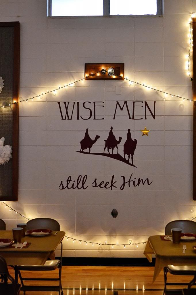 Ward Christmas Party: Wise Men Still Seek Him