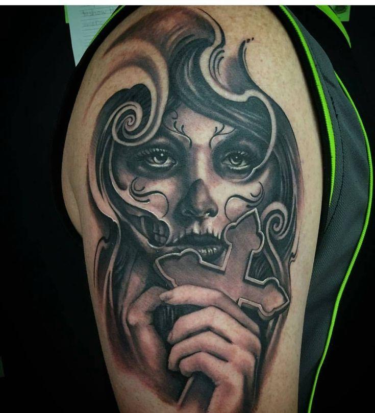 34 best la catrina tattoo vorlagen images on pinterest la catrina tattoo ideas and mexican skulls. Black Bedroom Furniture Sets. Home Design Ideas