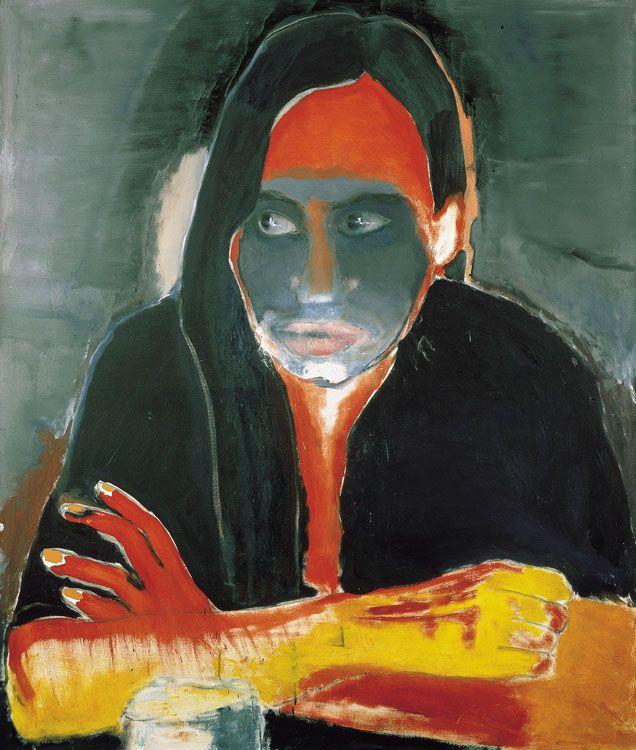 Marlene Dumas, Genetiese Heimwee (Genetic Longing), 1984
