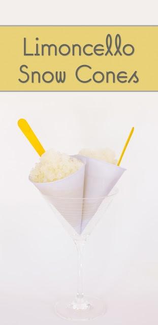 Limoncello Snow Cones via @cupcakeproject