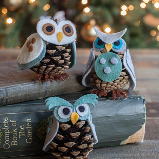 These cute little owls come with three different personalities and with this pattern you can mix and match to make your own little character
