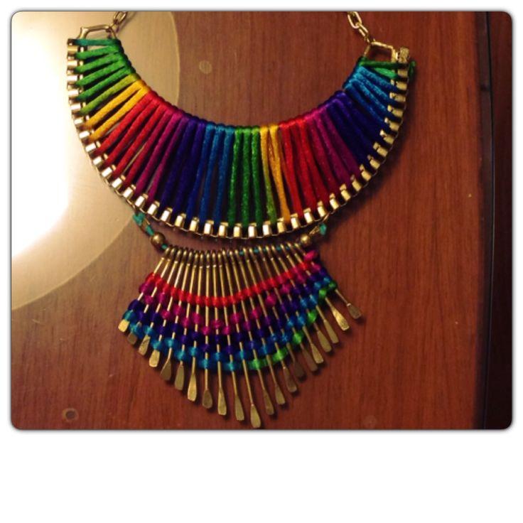 Necklace multicolor