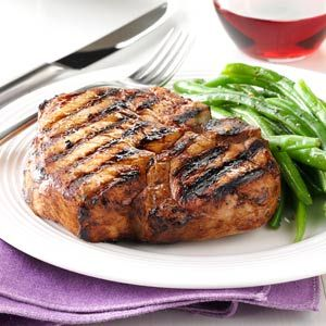 Zesty Grilled Chops Recipe from Taste of Home -- shared by Blanche Babinski of Minto, North Dakota