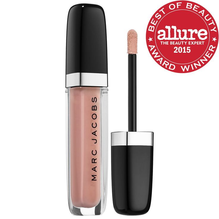 Enamored Hi-Shine Gloss Lip Lacquer Lipgloss in Moonglow is good over a nude lipstick! - Marc Jacobs Beauty   Sephora