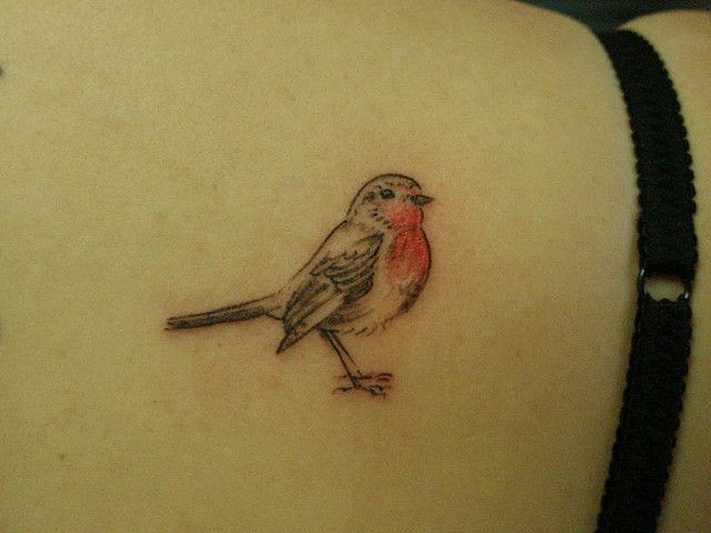 I'd love to get a robin tattoo for my pops x