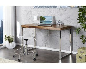 Drewniane biurko 120x60x75cm - BT32PA-N/KPES1-1