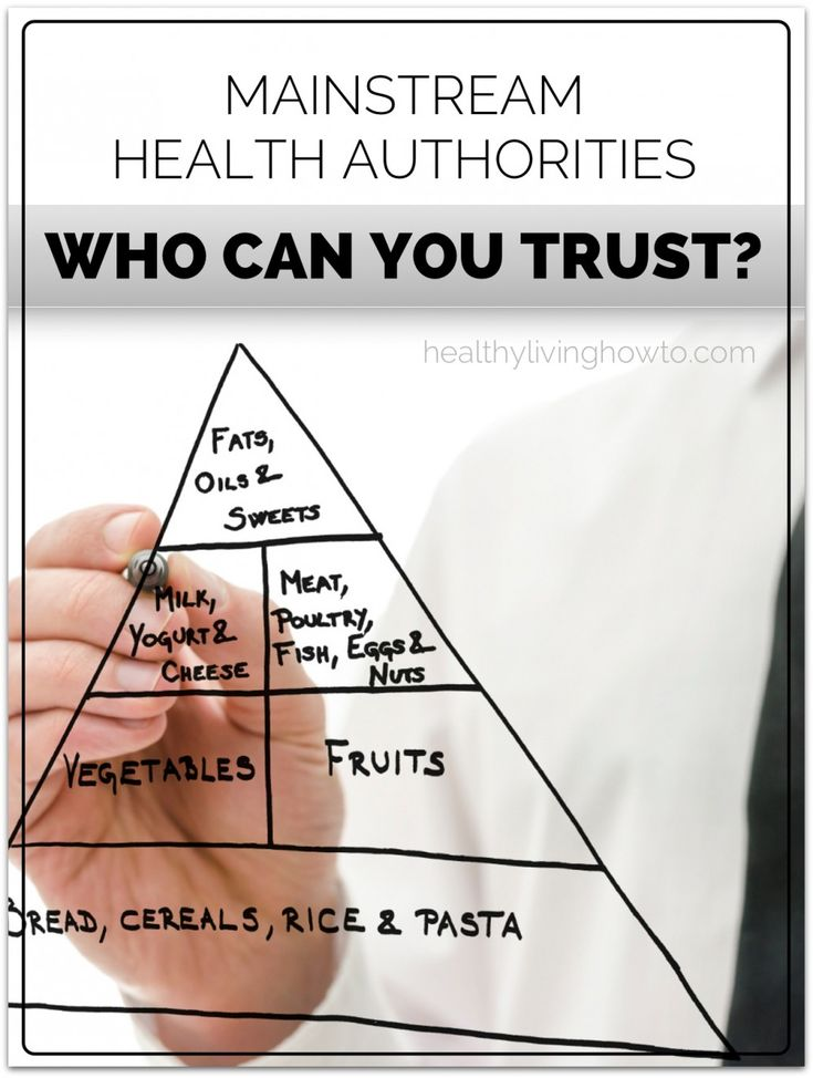 6 Reasons Why I Do Not Trust The Mainstream Health Authorities | healthylivinghowto.com