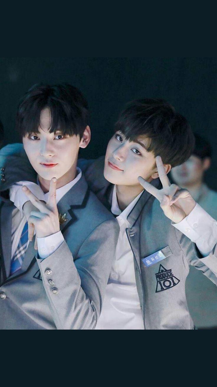 Minhyun and Seonho~♡♡♡