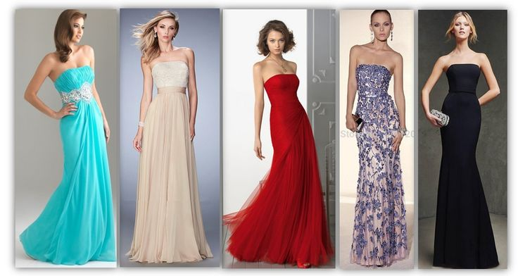 Formal Dress Neckline: STRAPLESS