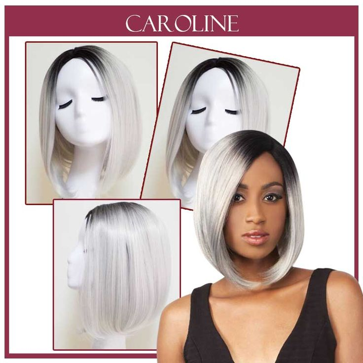 Synthetic Front Lace Wig Short Straight Wigs Hair Bob Blonde Glueless Front Lace Wigs For Women 305S