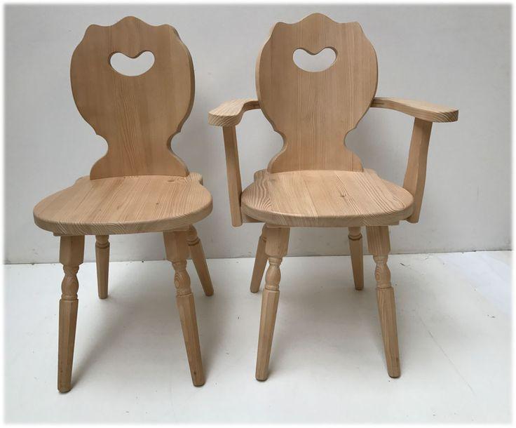 Bauernstuhl Lindau 3680, Armlehnstuhl Lindau 3681, Mit Gedrechselten  Beinen, Stuhlauswahl Modelle   Landhausmöbel