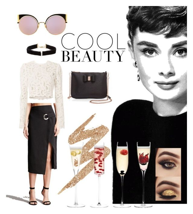 """""""Untitled #15"""" by salapopo on Polyvore featuring Anissa Kermiche, Fendi, Forever 21, A.L.C., Ted Baker, Urban Decay and LSA International"""