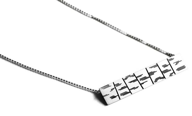 Anniina Dunder / Dunder Design ~ Sterling Silver Birch #pendant. | NordicJewel.com