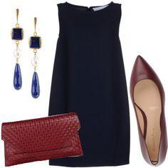 Vestito blu quali accessori harley
