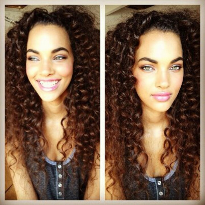 Hair color highlights curls natural african american