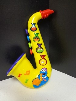 Fisher Price Sesame Street Rock N Roll Saxophone Fisher