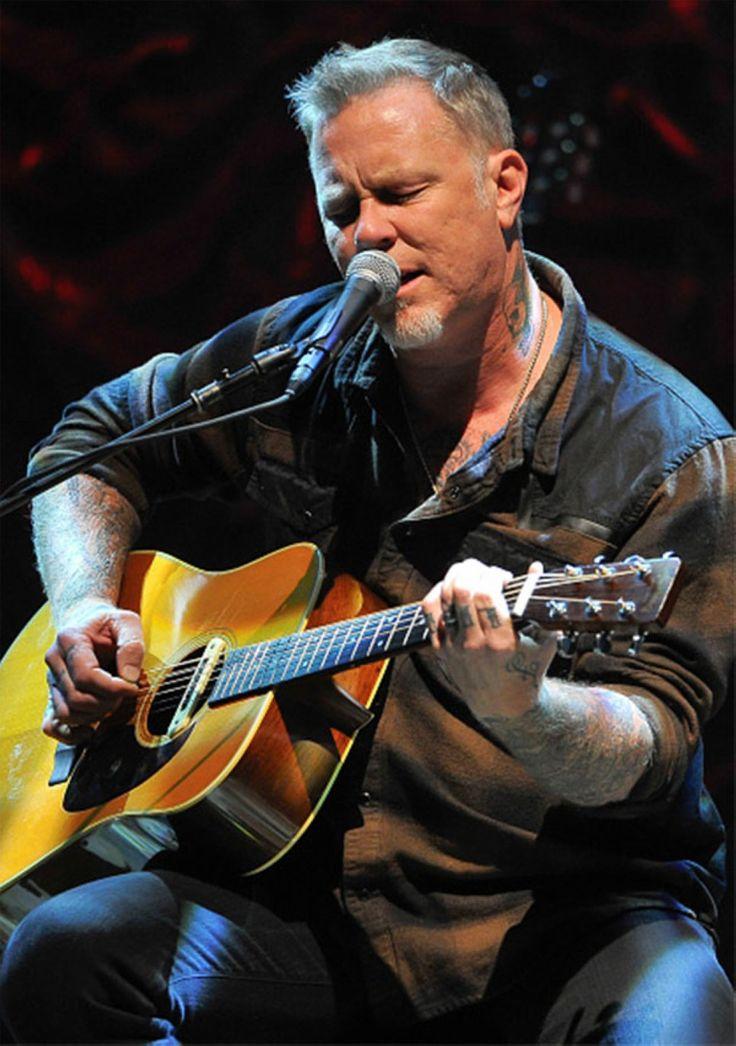 James Hetfield  full show at acoustic 4 a cure 15 May San Francisco 2015